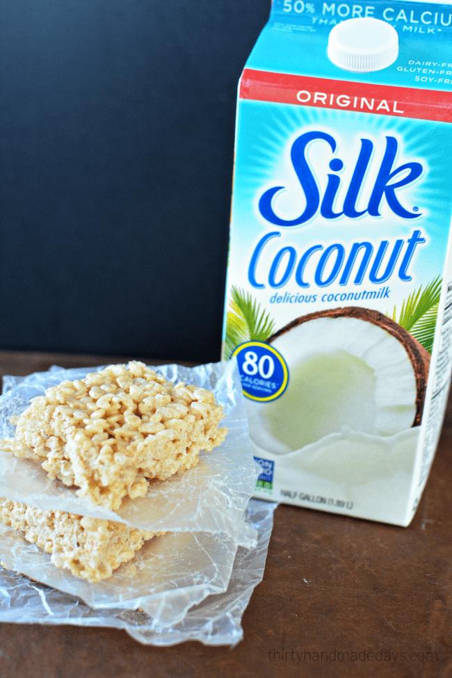 Healthier Coconut Oil Rice Crispy Treats from www.thirtyhandmadedays.com