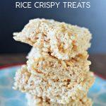 Coconut Oil Rice Crispy Treats www.thirtyhandmadedays.com