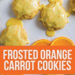 Frosted Orange Carrot Cookies- one of my favorites from childhood www.thirtyhandmadedays.com