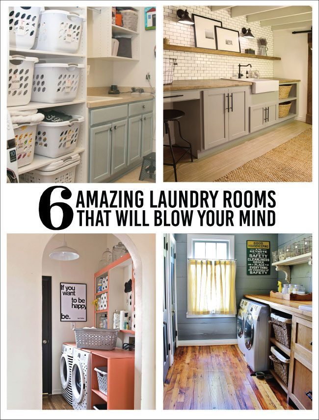 6 laundry rooms that will blow your mind. Black Bedroom Furniture Sets. Home Design Ideas