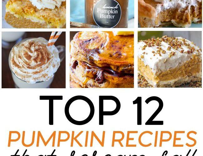 12 Pumpkin Dessert Recipes that Scream Fall