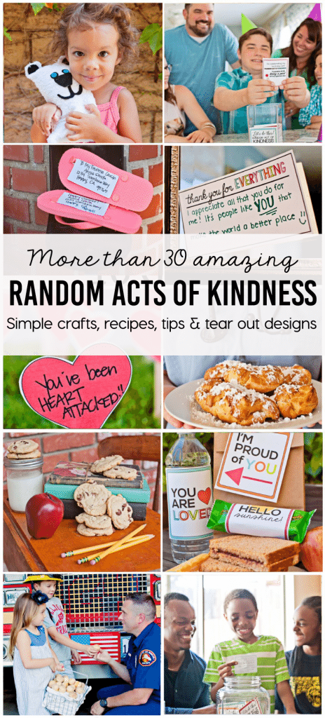 Make and Share Random Acts of Kindness Book - more than 30 amazing projects, crafts, tips and more!