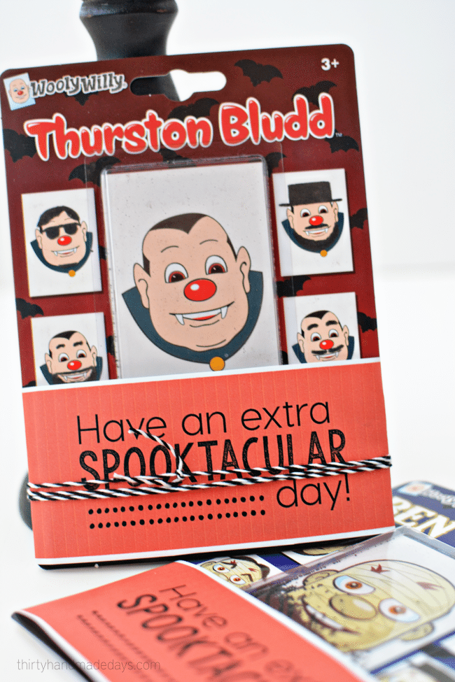 Have an extra spooktacular day - printable for Halloween www.thirtyhandmadedays.com