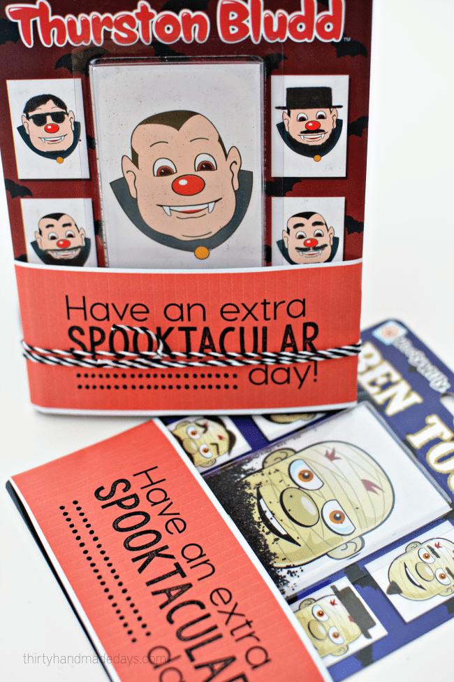 Have an extra spooktacular day - printable for Halloween www.thirtyhandmadedays.com