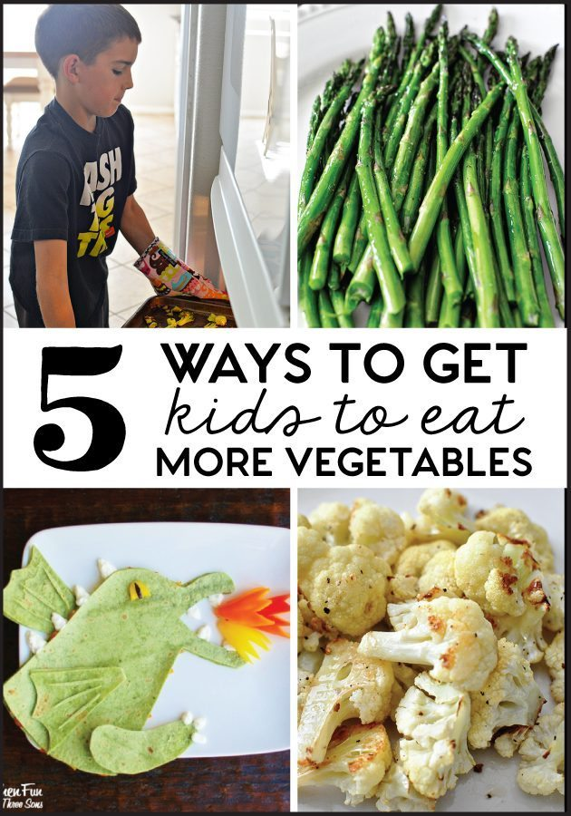 5 Ways to Get Kids to Eat More Vegetables
