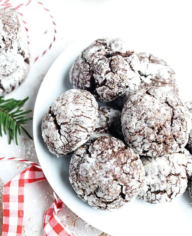 Chocolate Crinkle Cookies from the 36th Ave