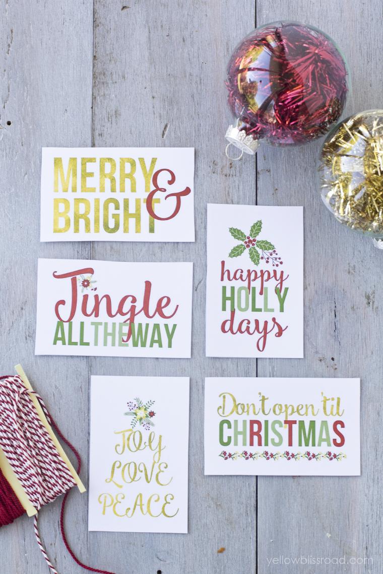 Printable Christmas Countdown - cute way to countdown the holidays.