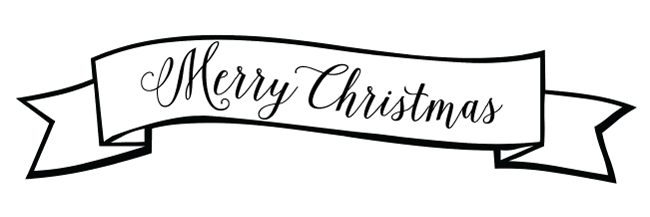Merry Christmas banner from www.thirtyhandmadedays.com
