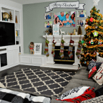 Our Family Room Update + Christmas Decor