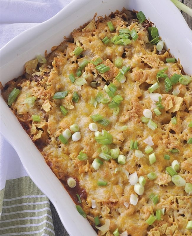 Taco Casserole from www.yourhomebasedmom.com