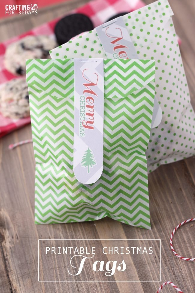 Printable Christmas Gift Tags from Crafting E for Thirty Handmade Days