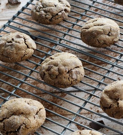 Triple Ginger Chocolate Chunk Cookies