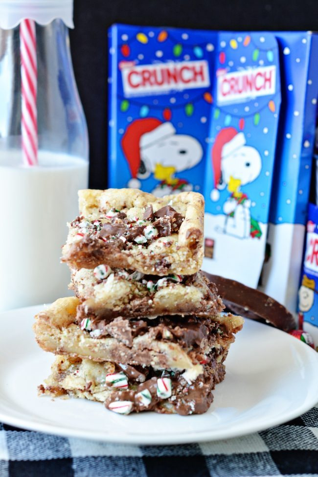 3 Ingredient Cookie Crunch Bars from www.thirtyhandmadedays.com