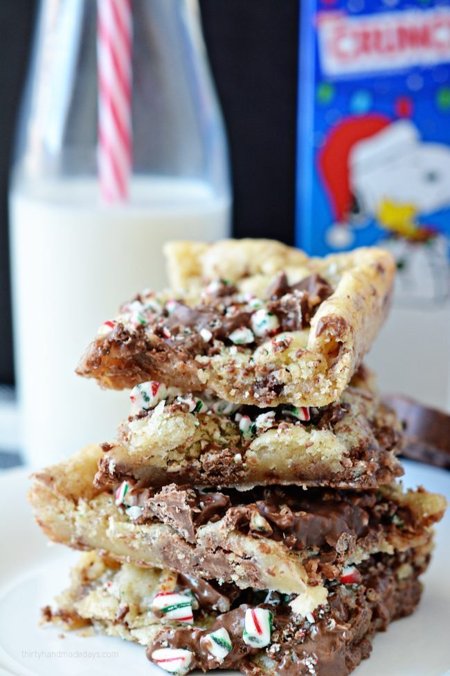 3 Ingredient Cookie Crunch Bars from Thirty Handmade Days