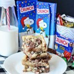 3 Ingredient Cookie Crunch Bars - awesome cookies for the holidays www.thirtyhandmadedays.com