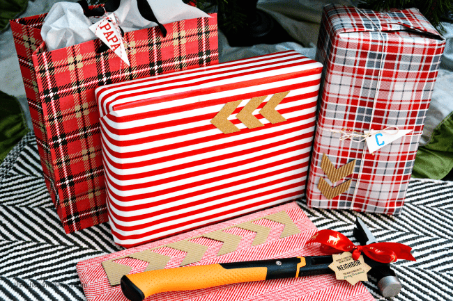 Gift Wrapping for Presents for Guys www.thirtyhandmadedays.com
