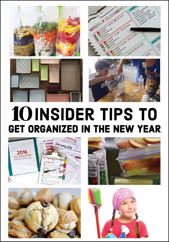 10 Insider Tips To Get Organized In The New Year Thirty