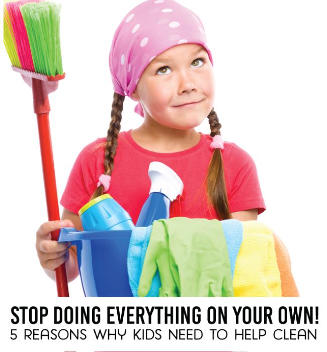 5 reasons why kids need to help clean from www.thirtyhandmadedays.com