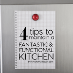 4 Tips to Maintain a Fantastic & Functional Kitchen