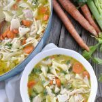 Homemade Chicken Noodle Soup - perfect for a cold winter day!