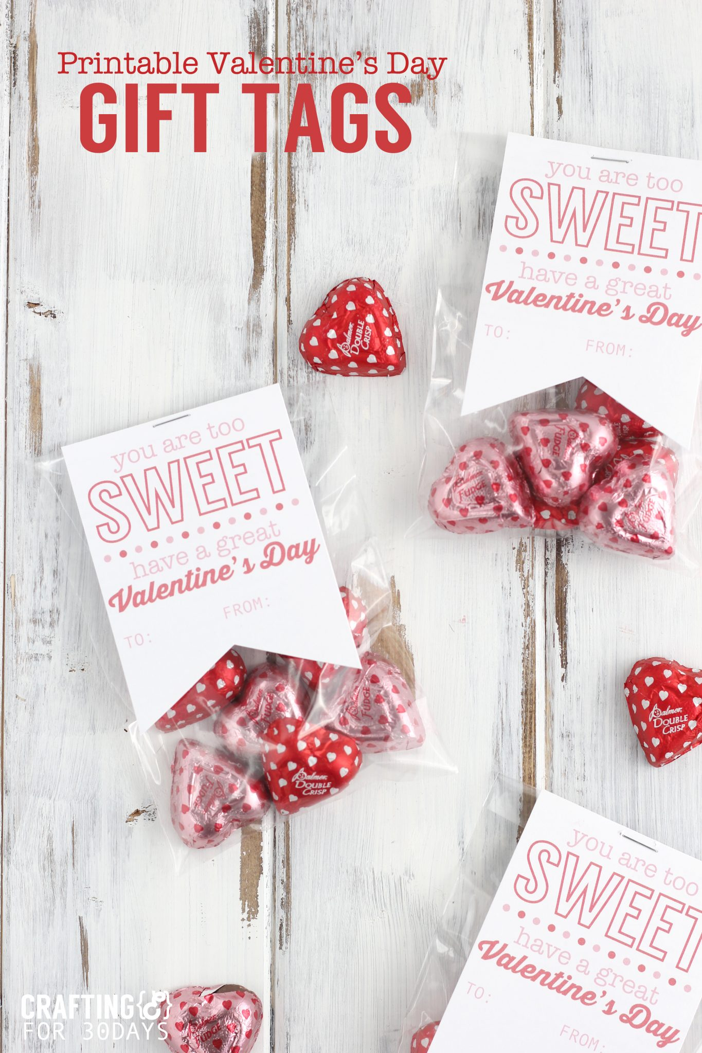 Printable Valentine S Gift Tag Thirty Handmade Days