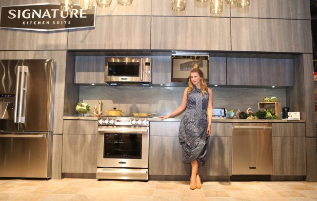 Lo Bosworth at Kitchen Event