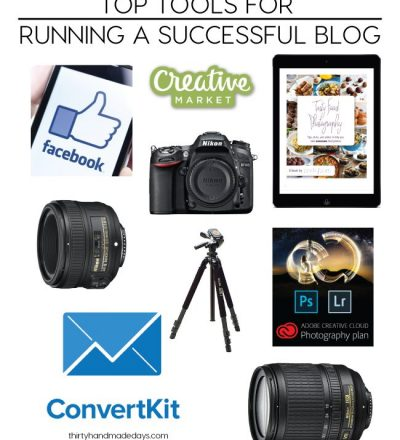 Top Tools for Running a Successful Blog from www.thirtyhandmadedays.com
