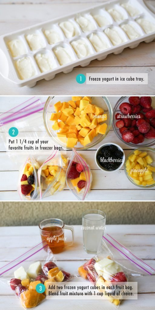 Smoothie Packs from the Chic Site