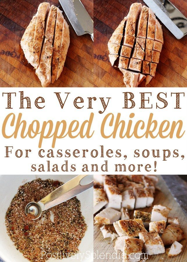 the Very Best Chopped Chicken