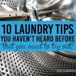 10 Laundry Tips You Haven't Heard Before