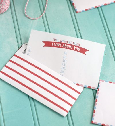Printable Valentine's Love Notes from CraftingE via www.thirtyhandmadedays.com