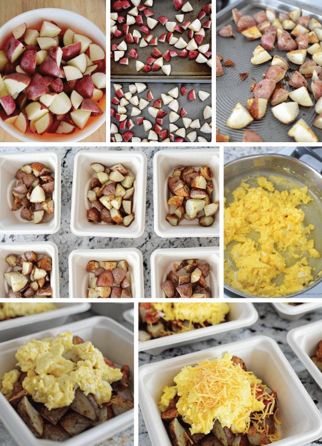 Hearty Breakfast Bowl -make your breakfast ahead. So simple and so great! www.thirtyhandmadedays.com