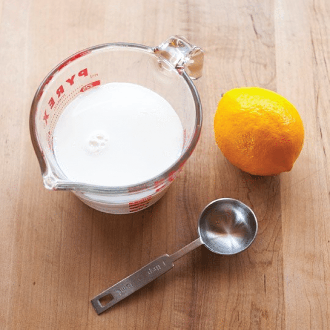 Make your own buttermilk