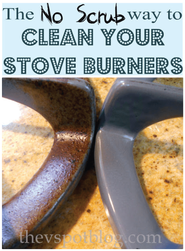 How to clean your stove burners