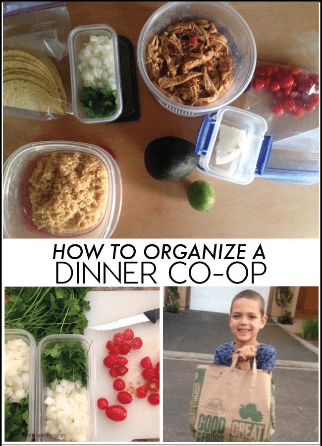 How to Organize a Dinner Co-op from www.thirtyhandmadedays.com
