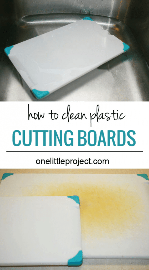 How to clean plastic cutting boards