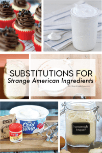 Substitutions for Strange American Ingredients from www.thirtyhandmadedays.com