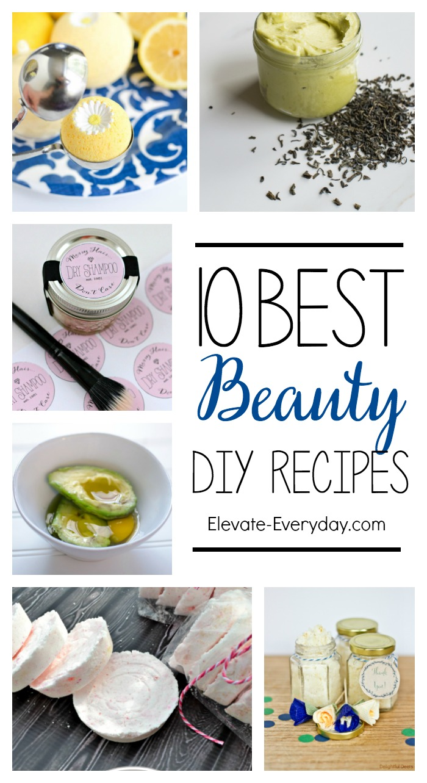 10 Best Beauty DIY Recipes