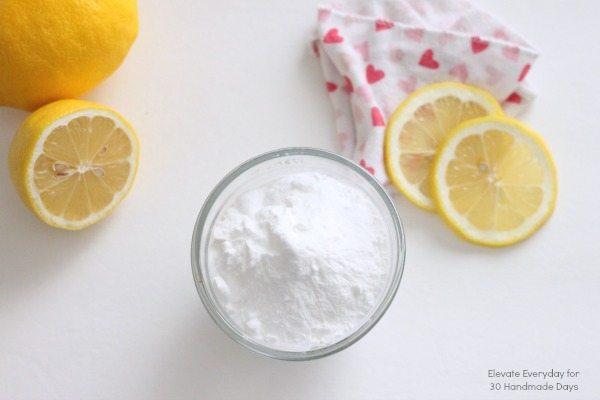 Baking soda and lemons