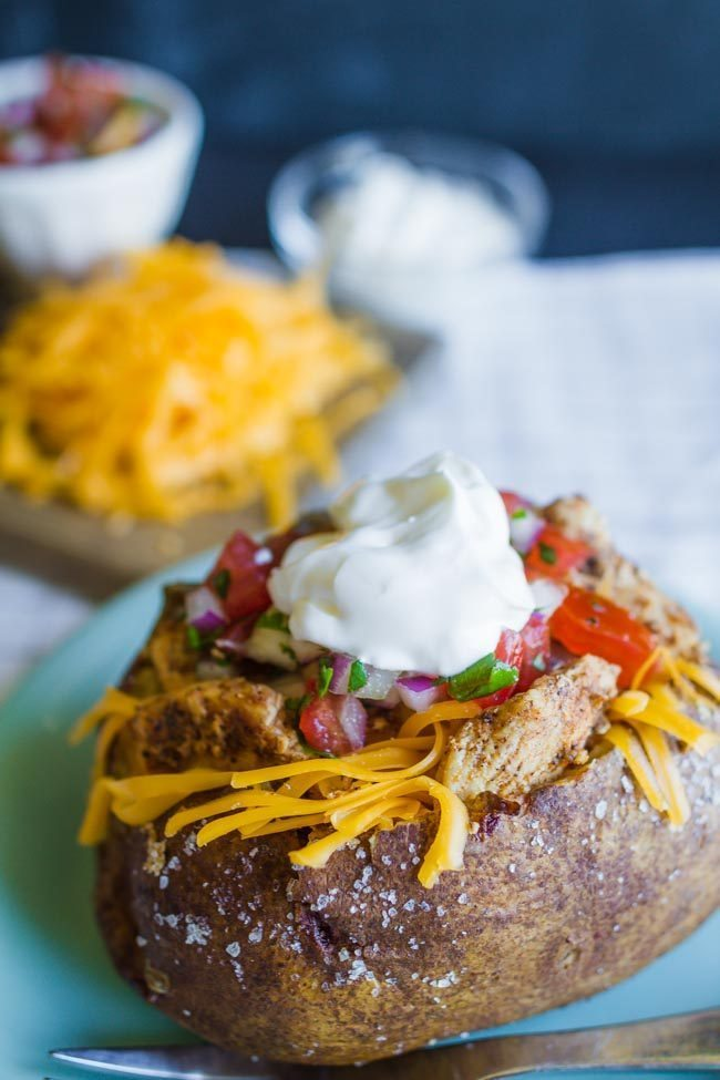 Mexicano Pollo Spud - easy dinner recipe from My Name is Snickerdoodle