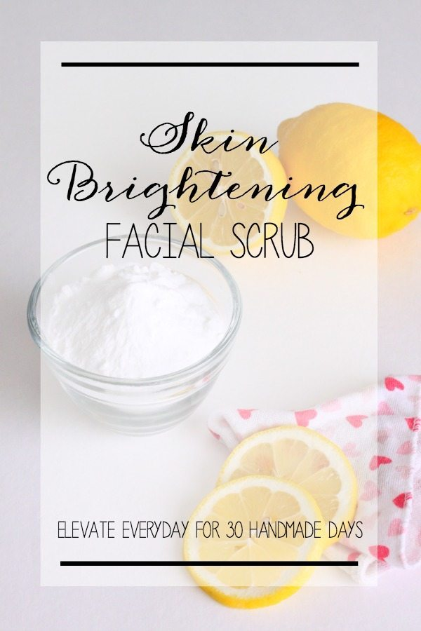 Skin Brightening Facial Scrub