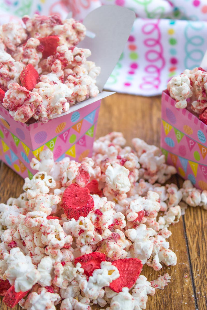 how to cook strawberry popcorn