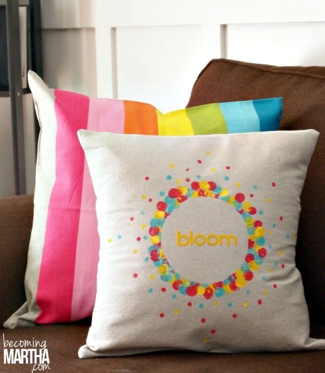Canvas Pillow Covers Diy