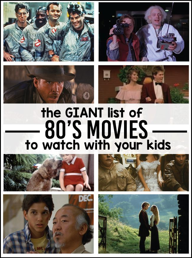 Great 80s Movies