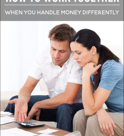 How to work together when you handle money differently --- more budgeting tips from www.thirtyhandmadedays.com