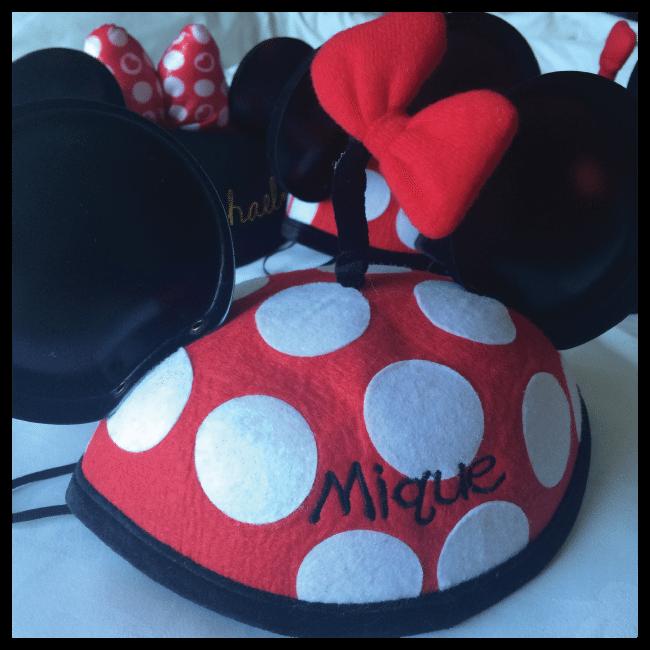 Mickey hat from Disneyland