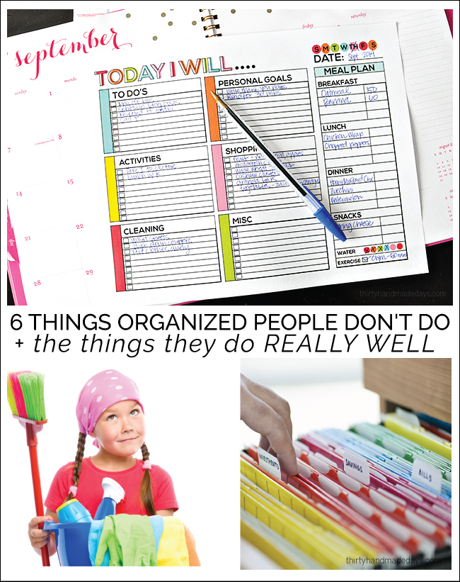 6 Things Organized People Don 39 T Do