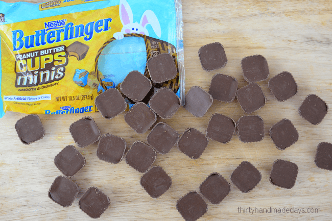 Butterfinger Peanut Butter Cups just in time for Easter!