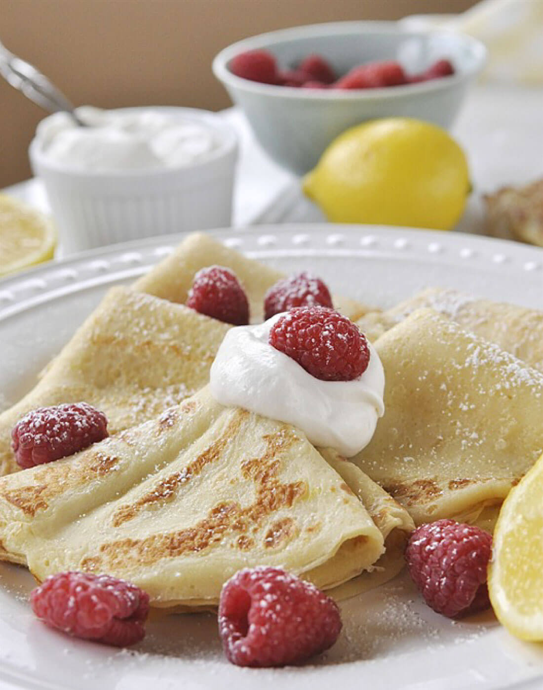 Swedish Pancakes - a cross between crepes and pancakes, this pancake recipe is one you'll go back to again and again.