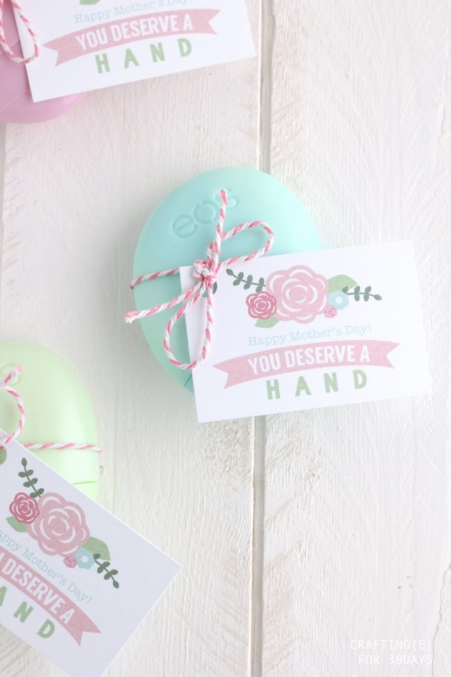Hand Lotion Mother's Day Gift Idea